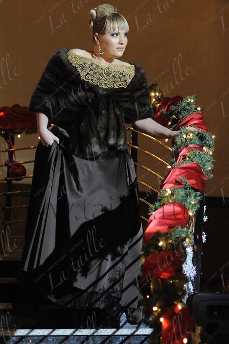 МОДЕЛИ: вечернее платье для полных